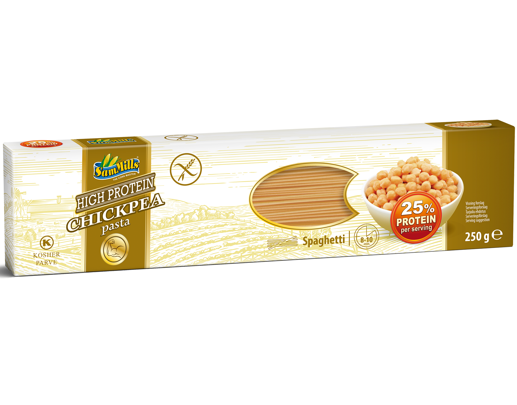 3D ChickPea Spaghetti.Scan1  Products Line
