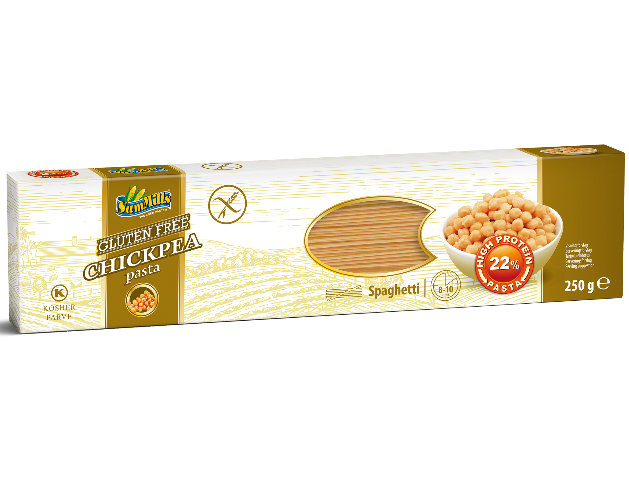 3D ChickPea Spaghetti.Scan  Products Line