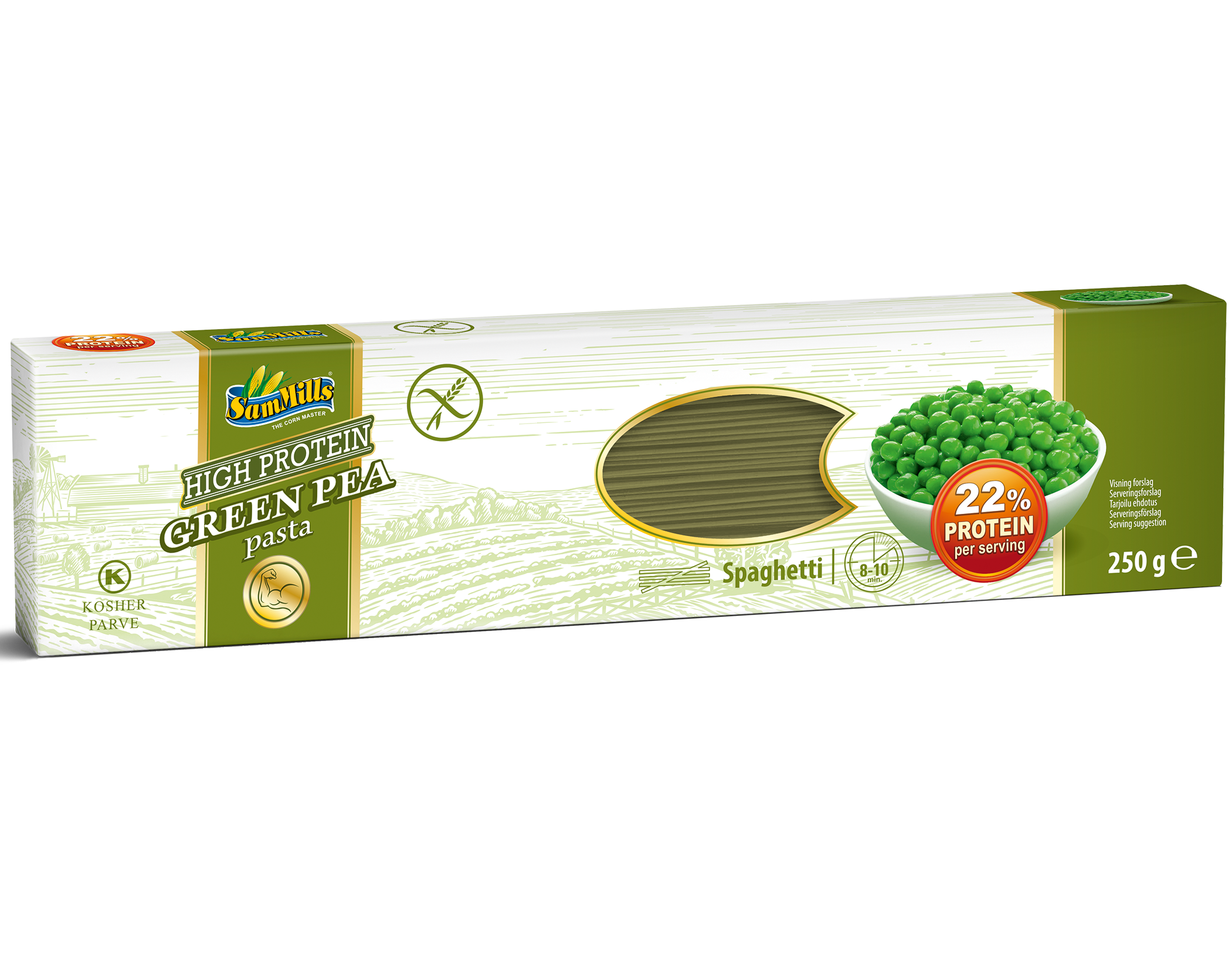 3D GreenPea Spaghetti.Scan1 1 Products Line