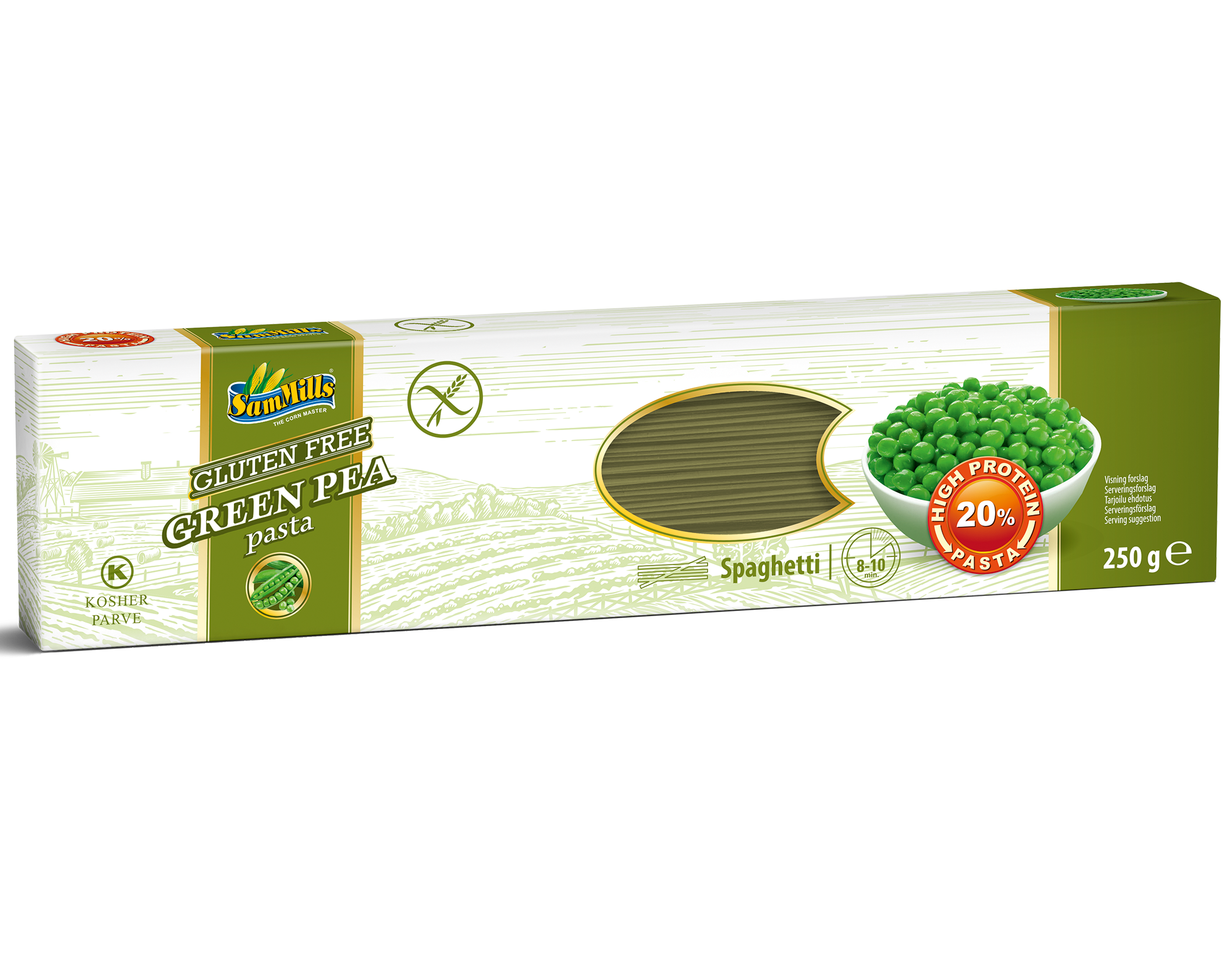 3D GreenPea Spaghetti.Scan  Products Line