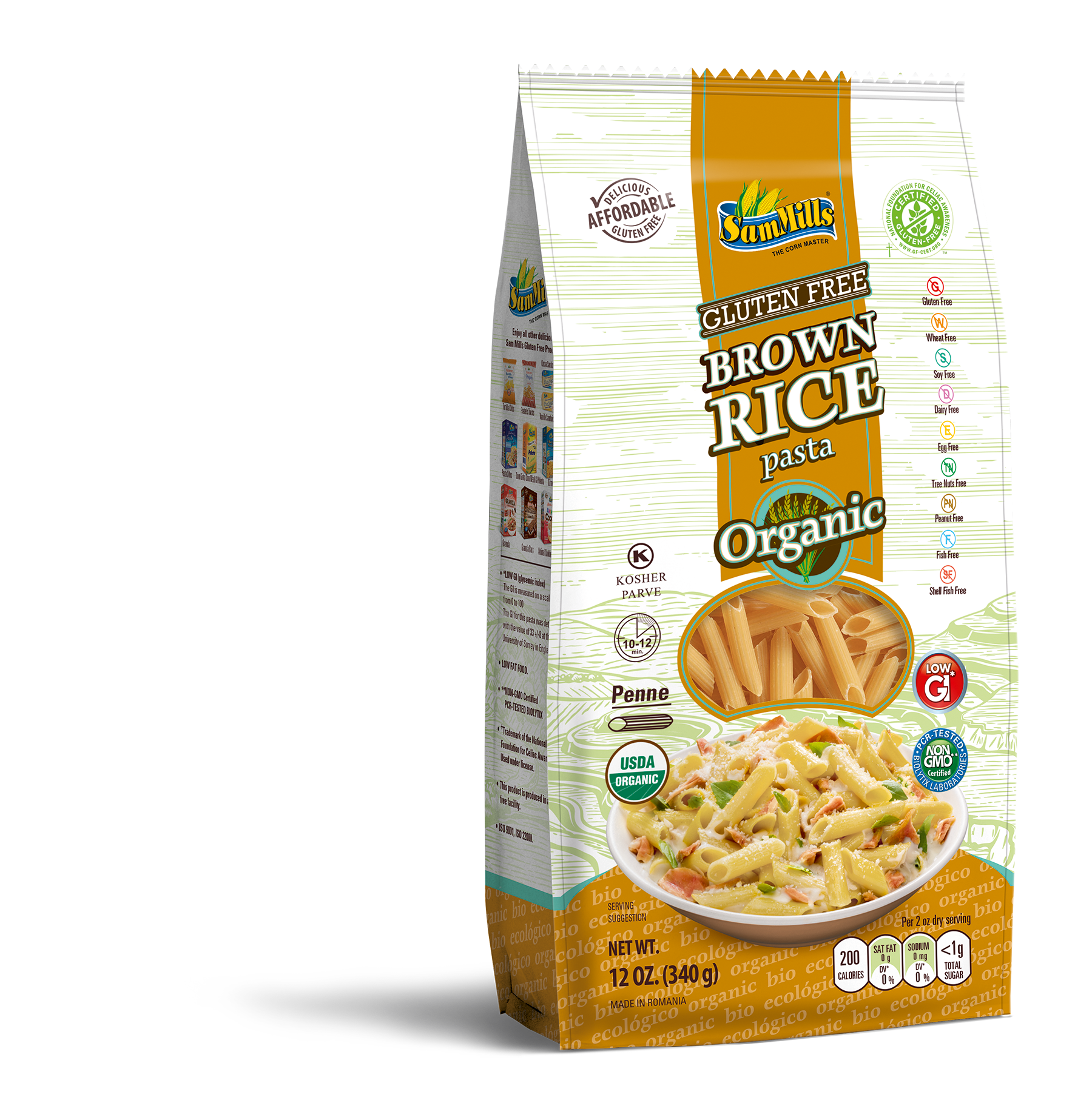 3d BRICE ORG penne Products Line