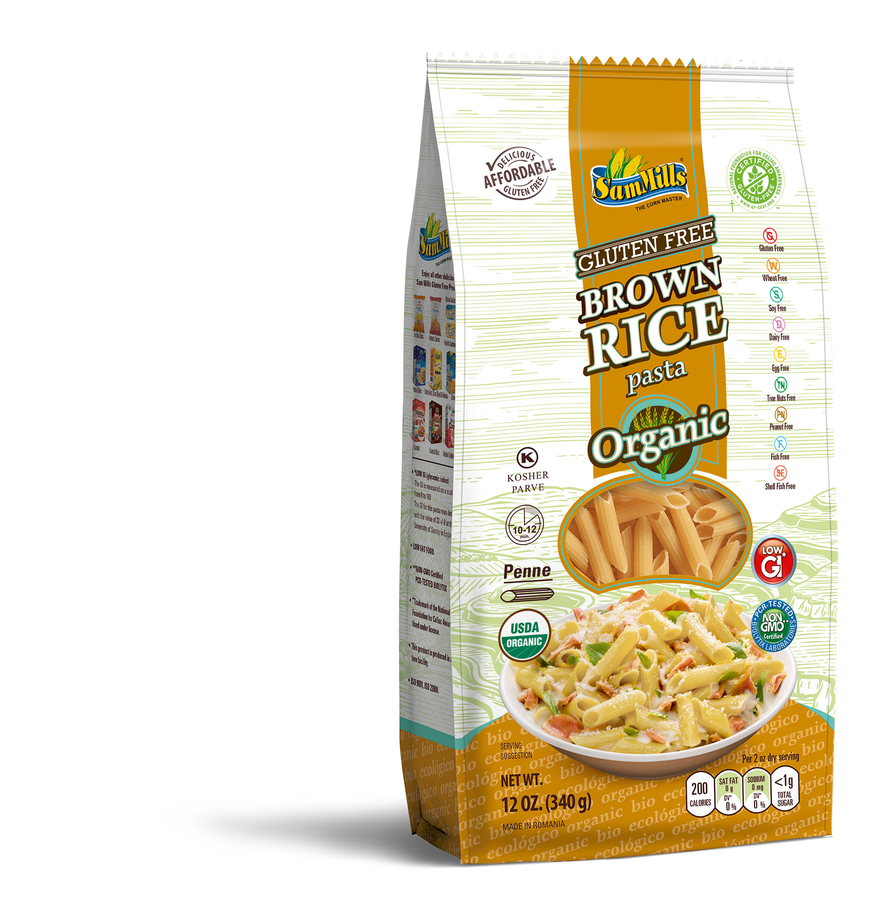3d BRICE ORG penne1 New Products Line