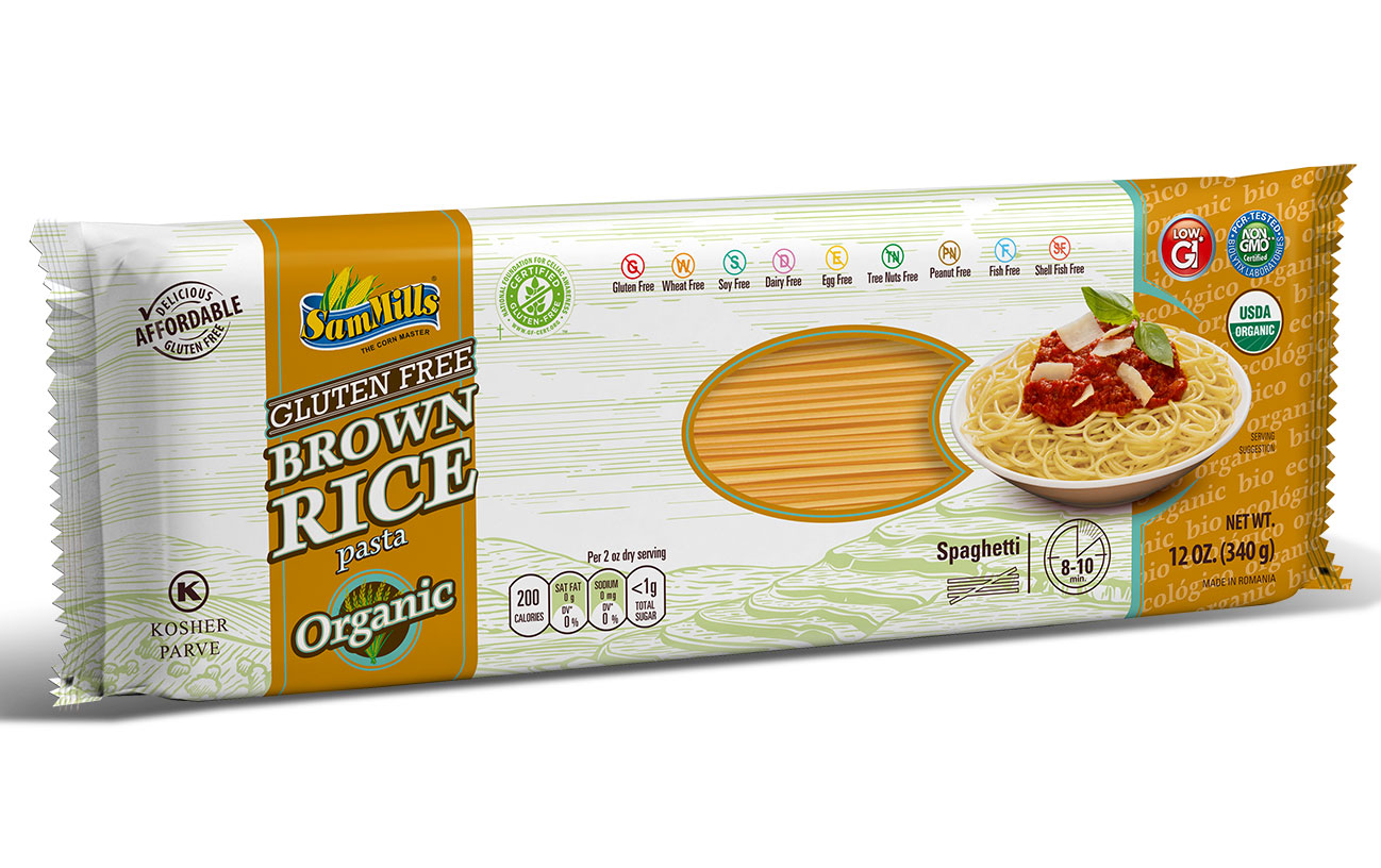 3d BRICE ORG spaghetti New Products Line