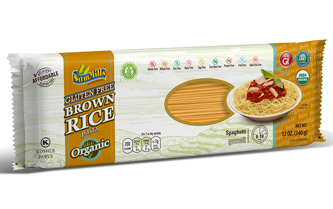 3d BRICE ORG spaghetti Products Line