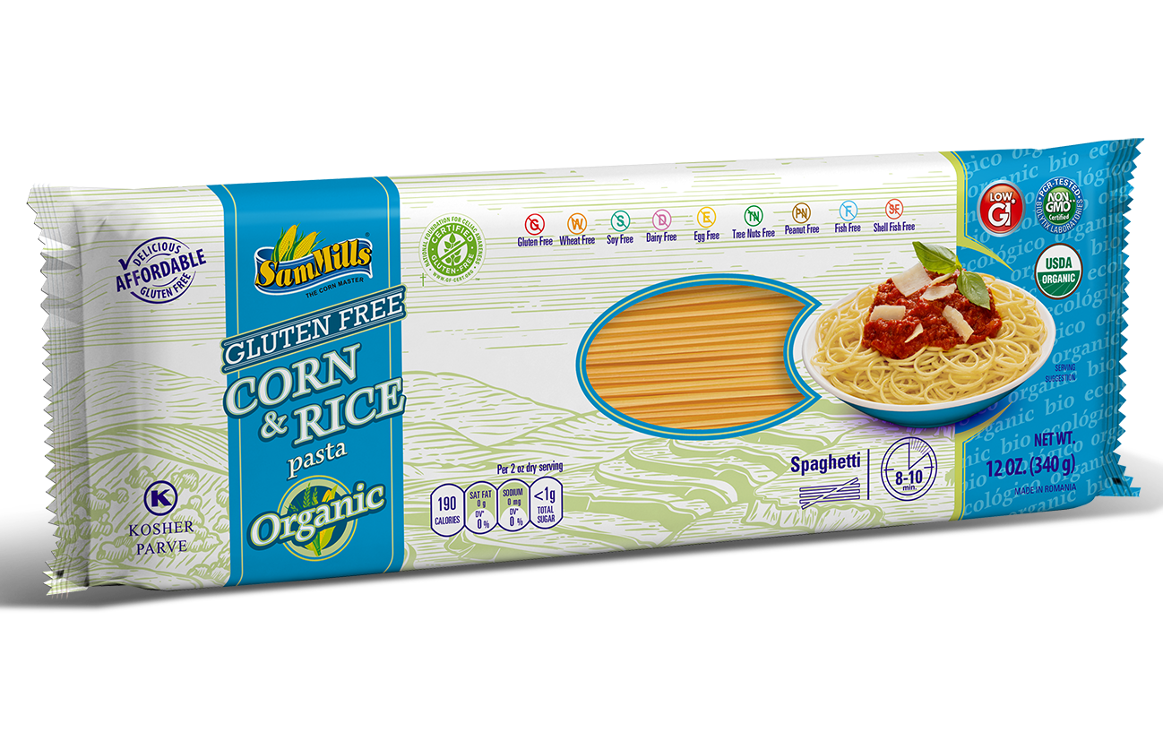 3d RICE ORG spaghetti1 Products Line