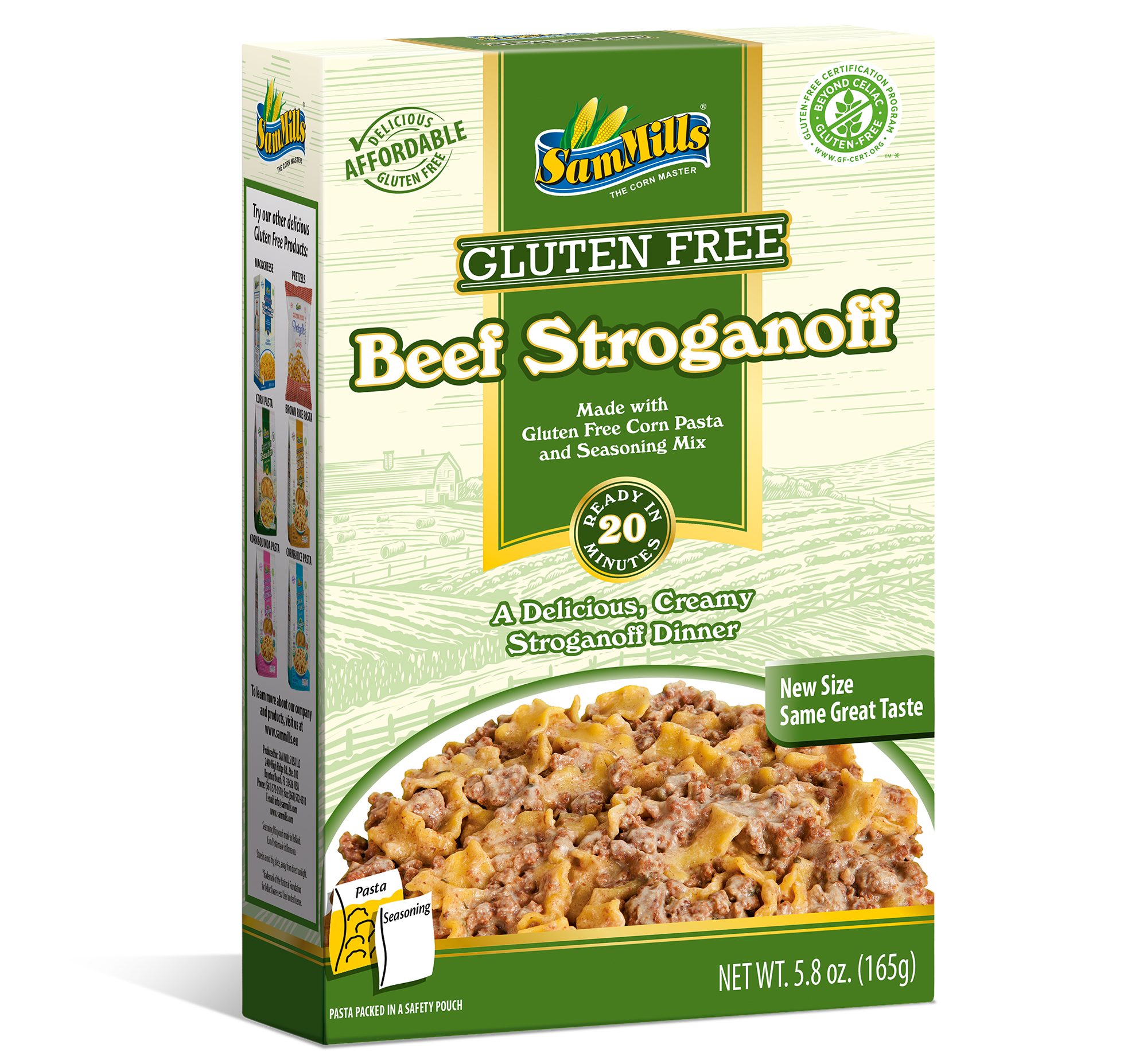 BeefStroganoff Products Line