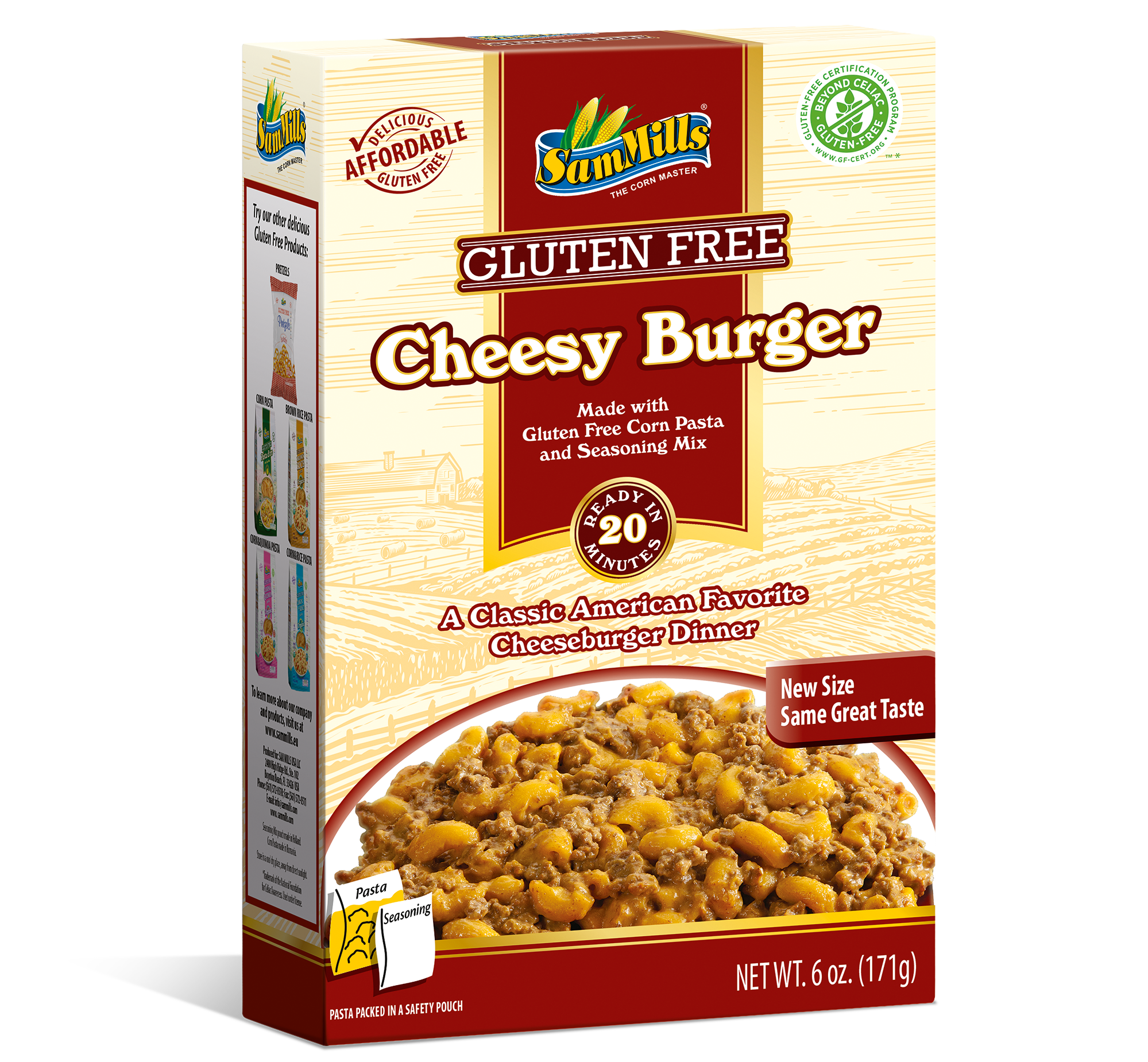 CheesyBurger Products Line