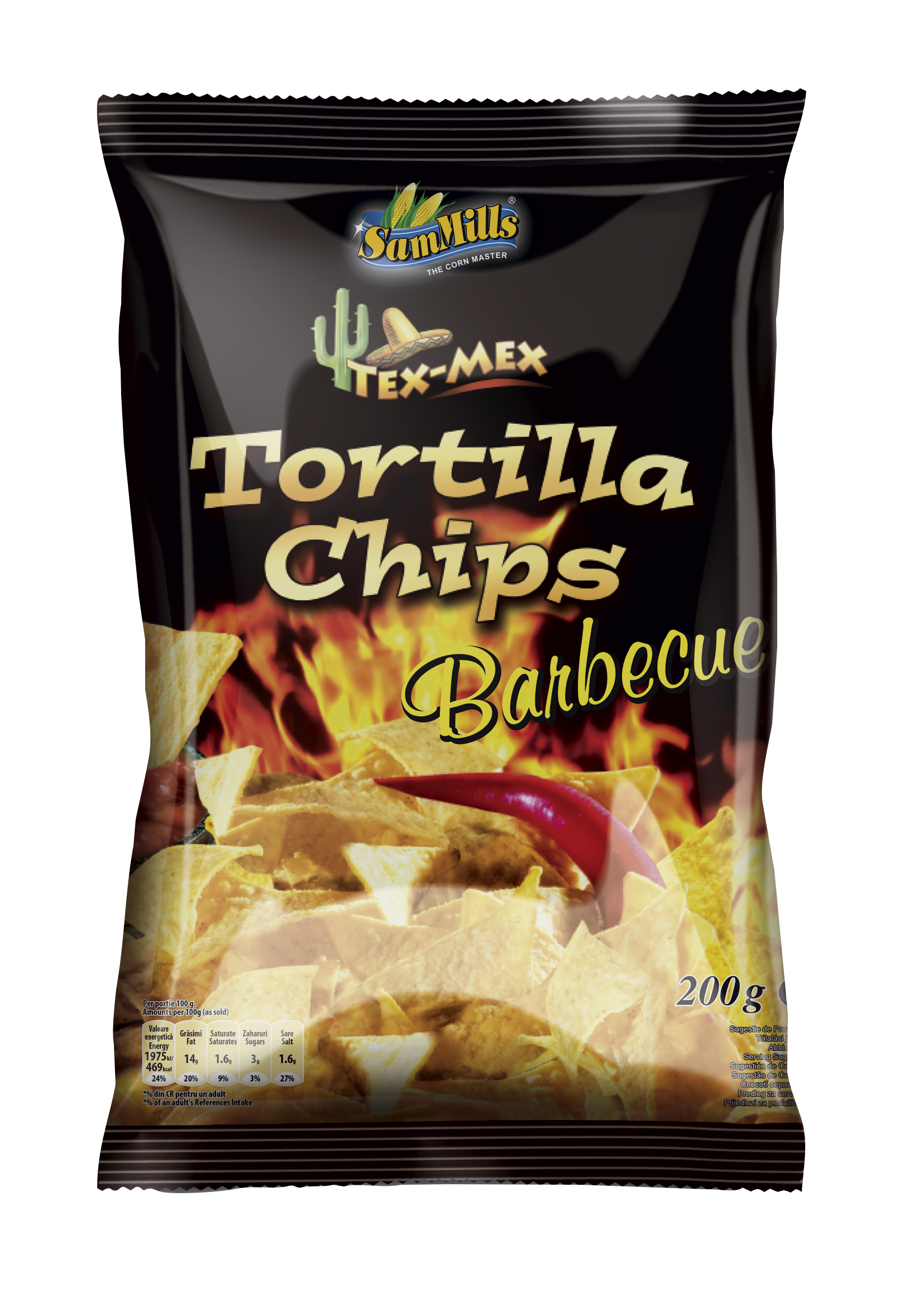 Tortilla Chips Barbecue Gama Produse