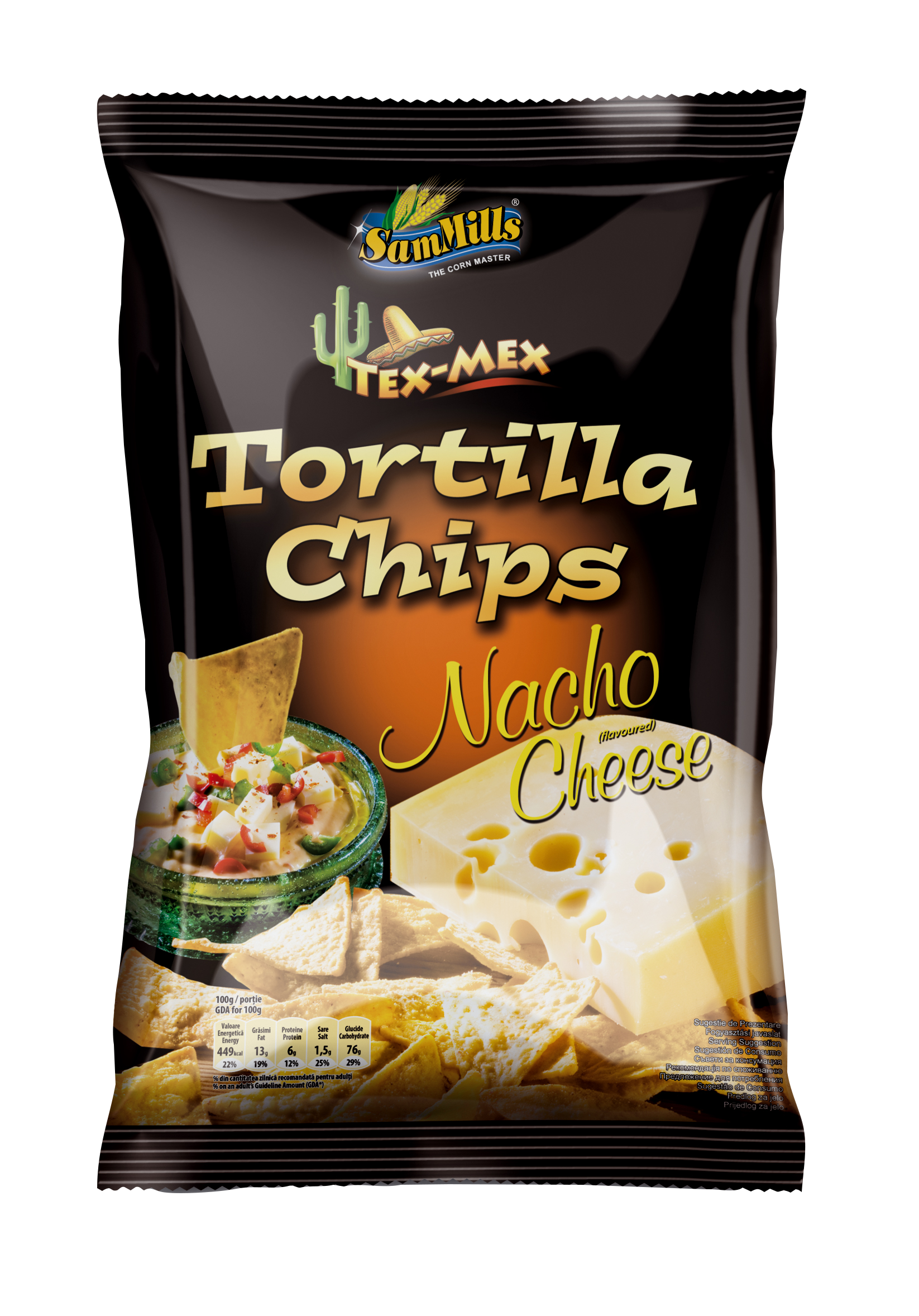 Tortilla Chips Nacho Cheese Products Line