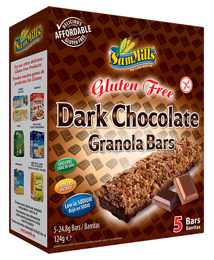 granola bars dark chocolate Sam Trade