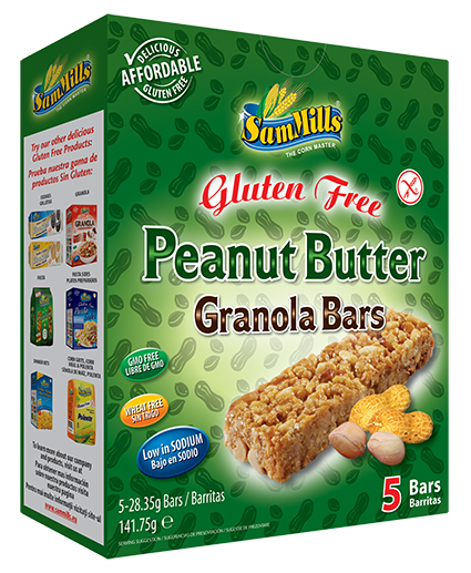 granola bars peanut butter Sam Trade