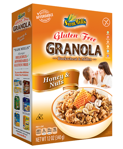 Granola SM Honey and Nuts 300 Sam Trade