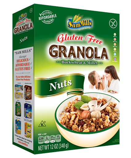 Granola SM Nuts 300 Sam Trade