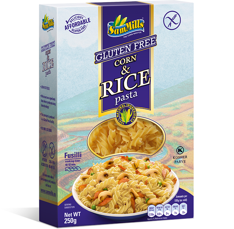 3D Rice fusilli EU2 Sam Trade